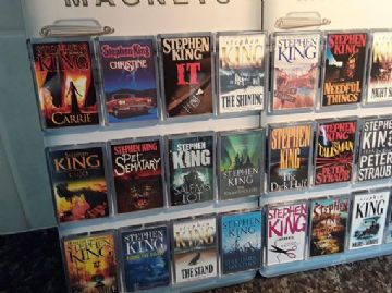Stephen King Book Cover Fridge Magnet. Choice of Design
